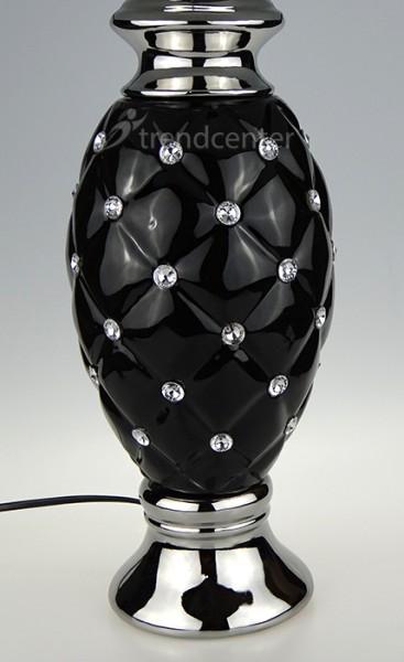 Moderne tischlampe keramik tischleuchte nachttischlampe leselampe tl1463 ebay - Keramik tischleuchte ...